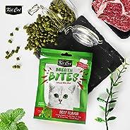 KitCat Breath Bites Beef Flavor, Green, 60g