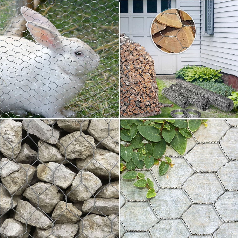 Grillage poule casa pura® vert | jardin, filet, animaux | triple ...