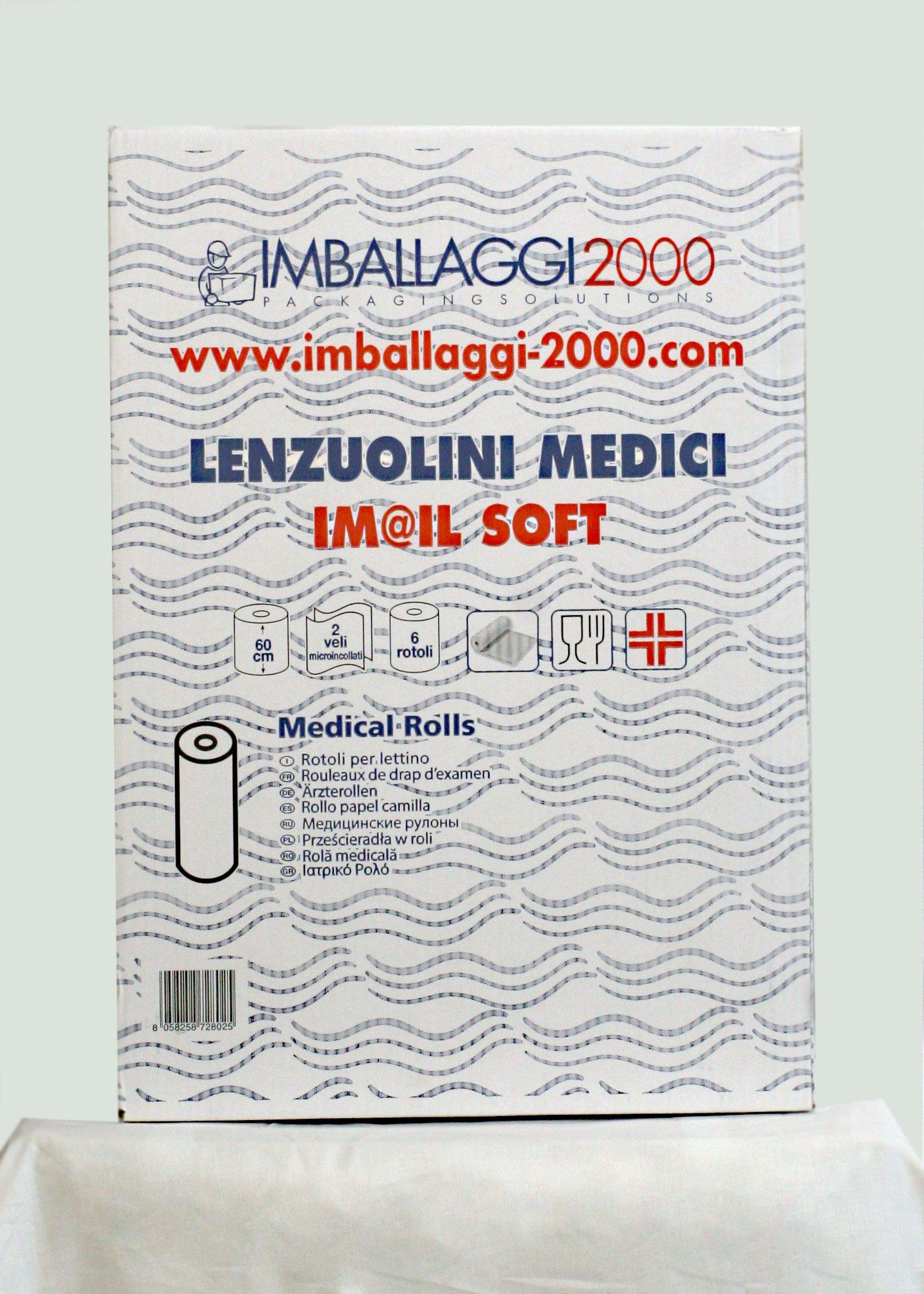 Rotolo Carta Lettino Massaggio.Imballaggi 2000 Rotoli Carta Lettino Massaggio Medico O