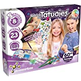 Science4you-5600983615045 Fábrica 60 Tatuajes Temporales con Ingredientes Naturales-Regalo Original para Niñas, Multicolor (8