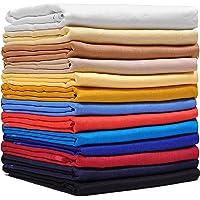 Fabilano Men's 100% Pure Linen 40 Lea Unstiched Shirt and Kurta Fabric (TL40)