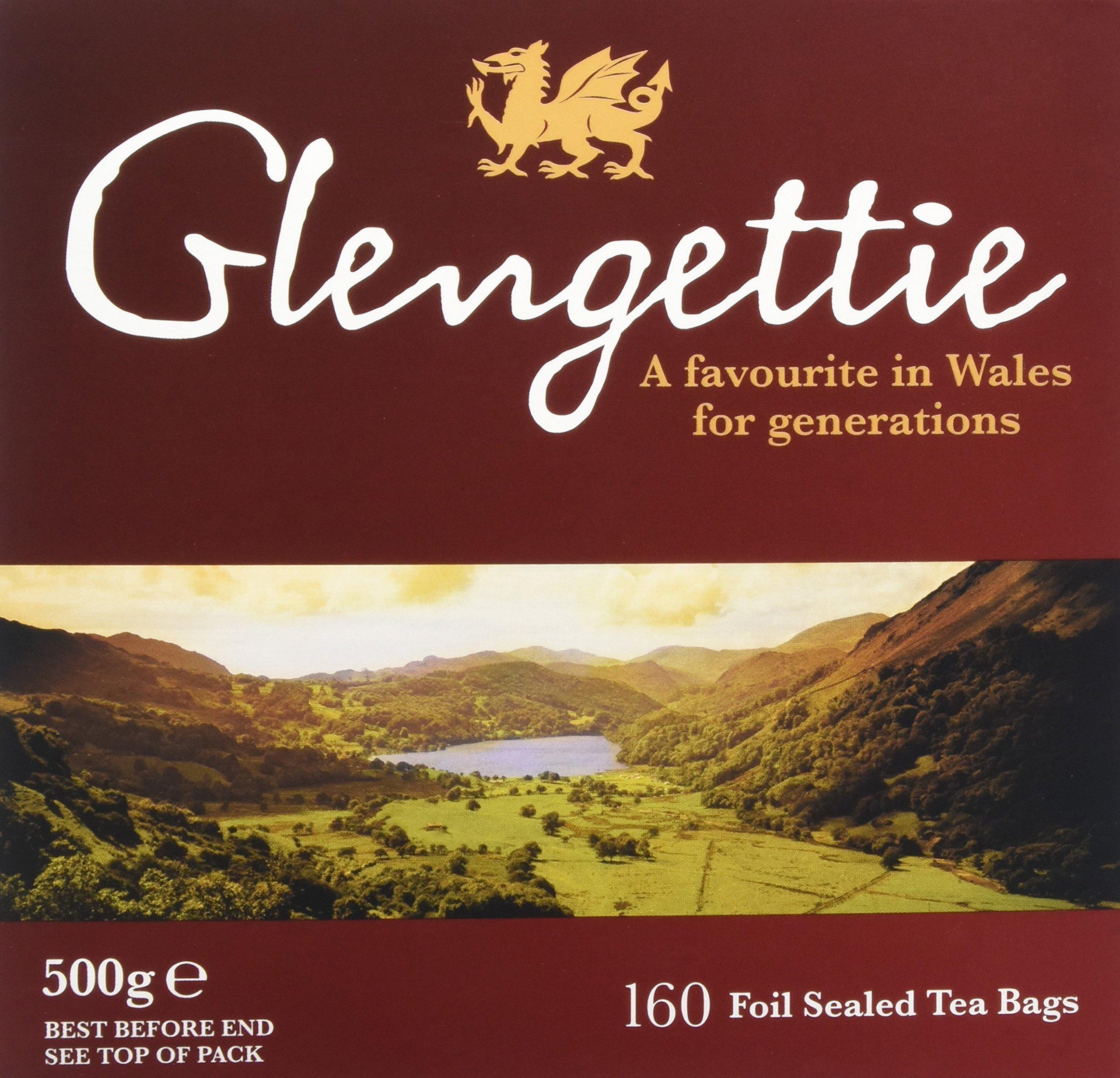 Glengettie everyday tea bundle (black tea) (everyday) (6 packs of 160 bags) (960 bags) (brews in 3-5 minutes)