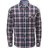 Charles Wilson Men's Long Sleeve Checked Flannel Shirt