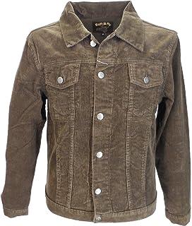 Fuzzdandy Jacket Mustard Yellow Corduroy Short Coat Mod Indie Denim Cord 60s 70s Hippie