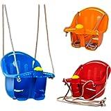MTS Childrens Childs Toddler Adjustable Outdoor Garden Rope Safety Safe Swing Seat