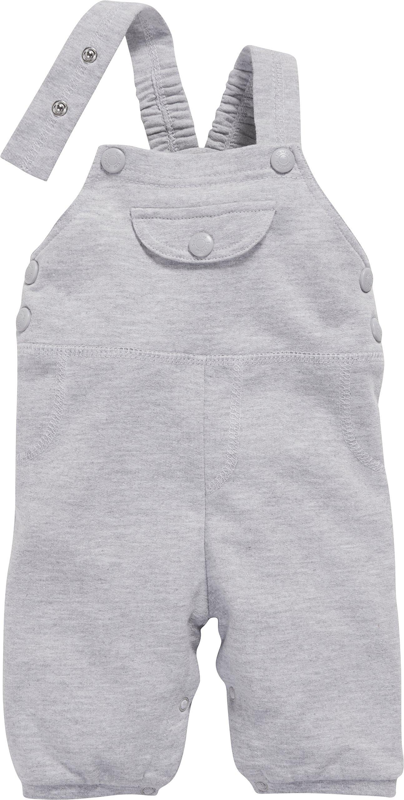 Schnizler Baby Sweat-Latzhose Meliert Pantalones de Peto para Bebés 2