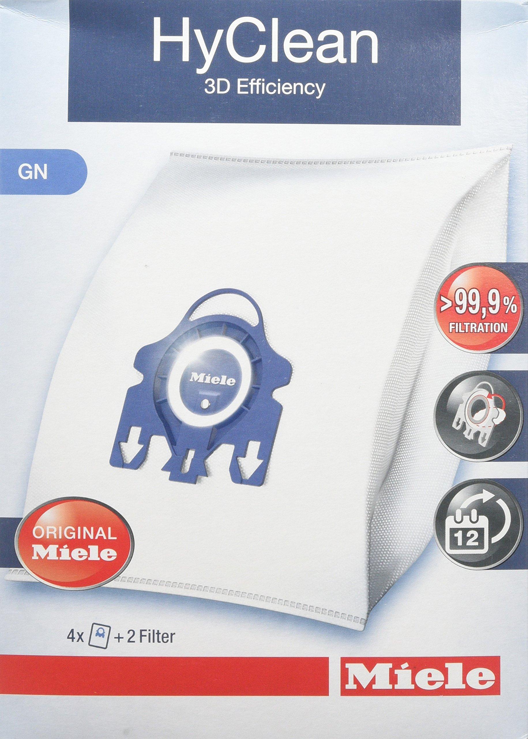 S5000 e S8000 Complete Miele GN HyClean 3D Efficiency Sacchetti per Aspirapolvere per Le Serie Classic S2000