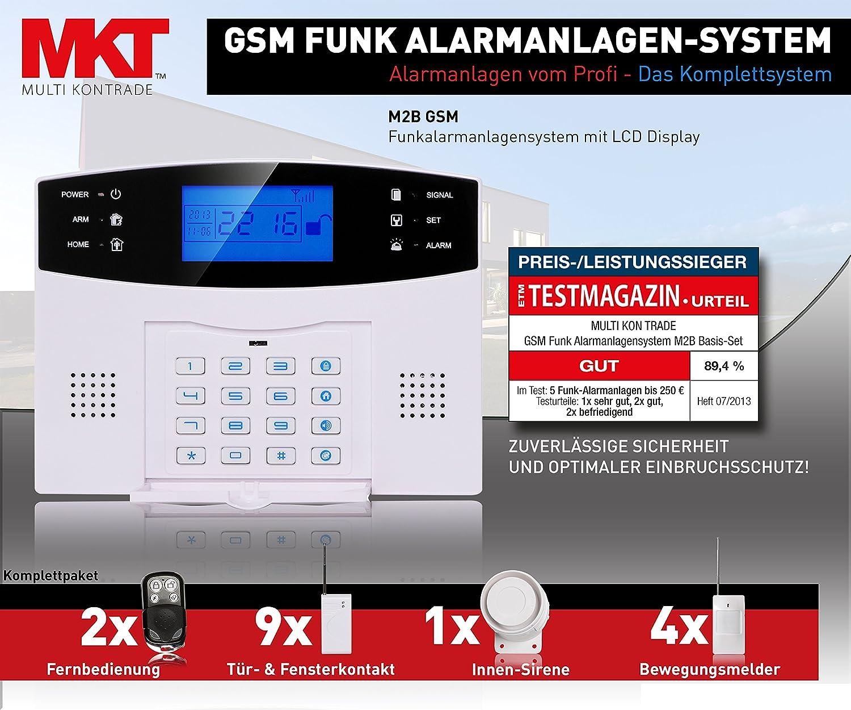 Multi Kon Trade Funk-Alarmanlagen-System