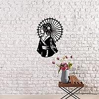 Geyşa Design Metal Duvar Dekoru-Metal Tablo-Duvar dekorasyonu