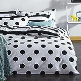 Dose Of Modern Point King Quilt Cover Set (EU) (ES) 162ELR41285 - Black White