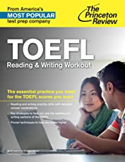 TOEFL Reading & Writing Workout (College Test Preparation)