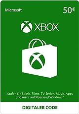 Xbox Live - 50 EUR Guthaben [Xbox Live Online Code] [PC Code - Kein DRM]