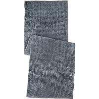 Amazon Brand - Solimo Anti-Slip Microfibre Loop Bedside Runner - 150 x 50 cm, Grey