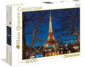 Clementoni 32554 - Puzzle HQC Parigi, 2000 Pezzi