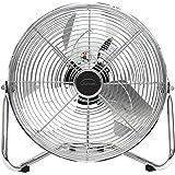 DOMAIR BA30CC - Ventilateur/Brasseur d'air à poser - Diamètre 30 cm - 48 Watts -3 vitesses - Débit d'air : 3317 m3/h – Inclin