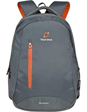 Murano Router 33 Ltr Laptop Backpack for 15.6 inch Laptop and Nylon Water Resistance Backpack- Grey