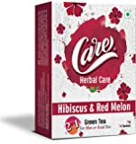 Care 2 in 1 Hot or Iced Hibiscus & Red Melon Green Tea | Delicious & Refreshing Drink with Health Benefits | Lowers…