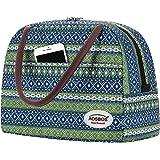 Aosbos Sac Repas Isotherme Femme Lunch Bag Portable Sac De Déjeuner Glacière Souple Isotherme Pour Bureau Pique-nique École F