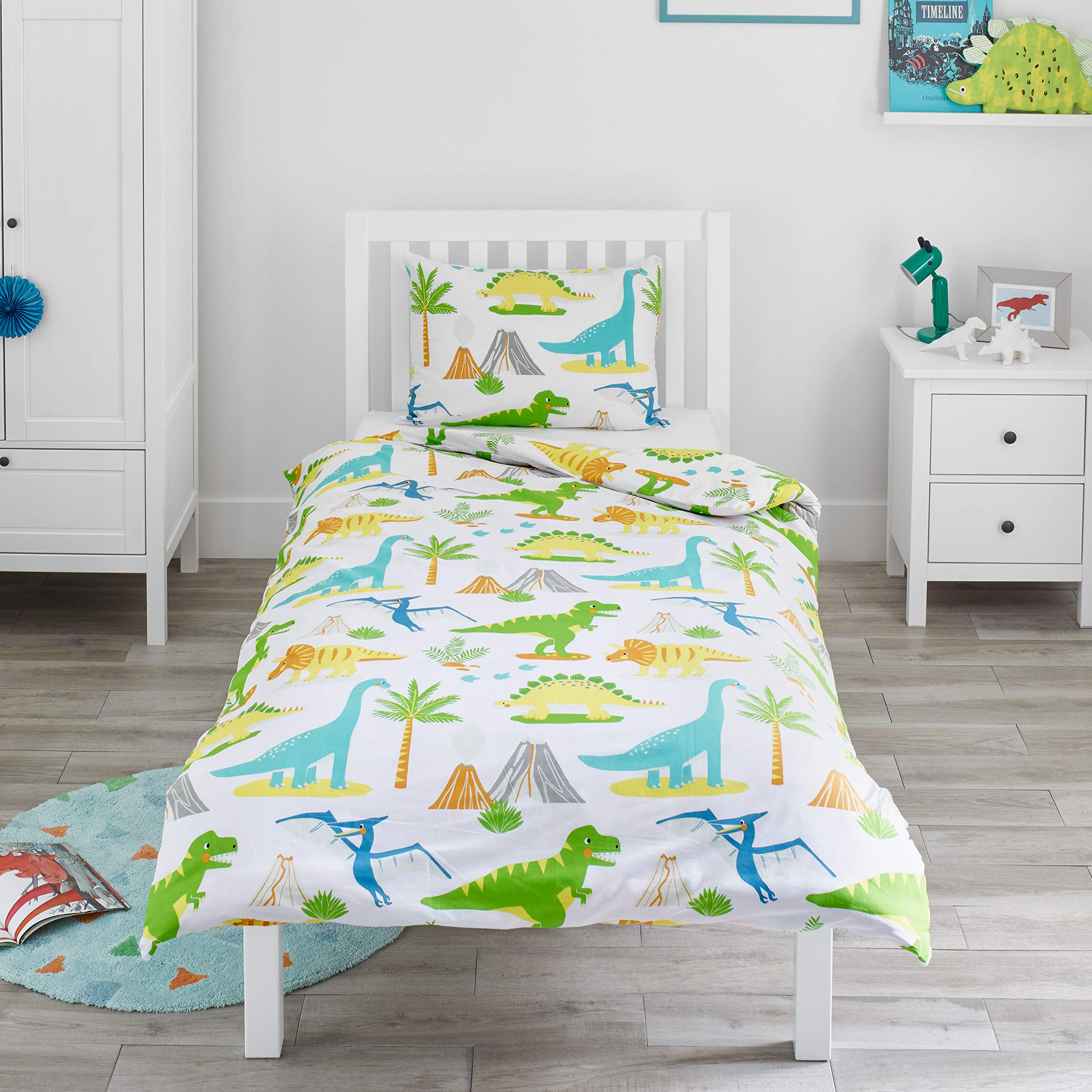 Luxury Nursery Baby Toddler Junior Cot Bed anti-Allergy Duvet Quilt or Pillow by CosyWinks/® 4.5 tog