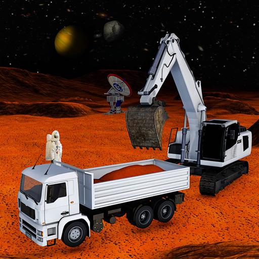 Weltraum-Kolonie Construction Simulator 3D: Mars City -