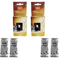 Melitta Perfect Clean Lot de 2 paquets de 4 pastilles de nettoyage (1,8 g) pour machines à café