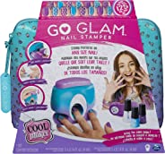 Spin Master Goglam Nail Printer Go Glam Nail Stamper, Nail Studio with 5 Patterns to Decorate 125 Nails for Girls