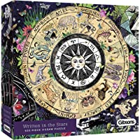 Gibsons White Logo Collection Written in the Stars 500 Piece Jigsaw Puzzle
