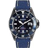 Gigandet Reloj de Hombre Automático Sea Ground Reloj Azul G2-022
