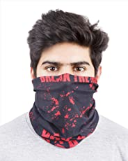 Noise NOIHWP247 13-in-1 Red Soul of Hero Multifuntional Polyester Bandana, Free Size (Black)