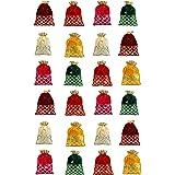Fancy Walas Presents Designer Rajasthani Style Royal Velvet Potli Batwa Bag Bridal Purse Women handbag Shagun Pouch Return Gi