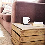 Wooden Vintage Apple Crate with Lid; handmade in Kent