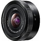 Panasonic H-FS12032E LUMIX G Vario Standardzoom 12-32 mm F3.5-5.6 ASPH. Objektiv (24-64 mm KB, O.I.S. Bildstabilisator) schwarz