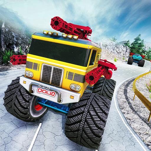 Monster Truck Race Shooting Crystal Belle