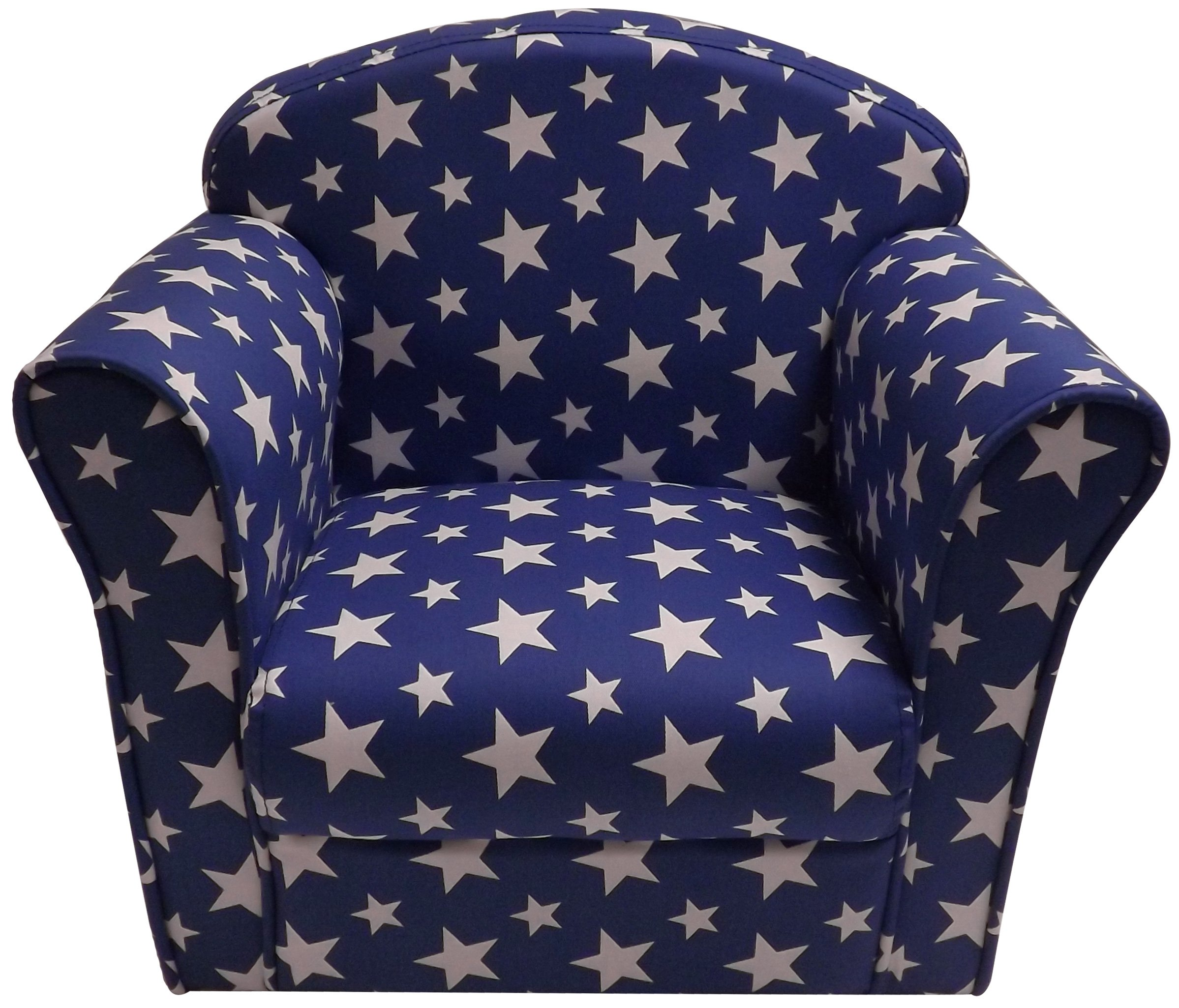 Kidsaw Mini Armchair (Blue) Kidsaw Fully safety tested Strong double stitch Piping finish 3