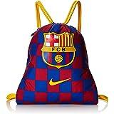NIKE FC Barcelona Stadium Football Gym Sack Bolsa de Gimnasio, Unisex Adulto, Deep Royal Blue/Noble Red/Varsity Maize, Talla