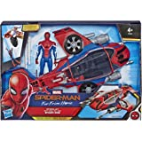 Hasbro Marvel E3548EU4 Far from Home Spider-Jet, Fahrzeug, Action-Figur, Mehrfarbige, 15 cm große