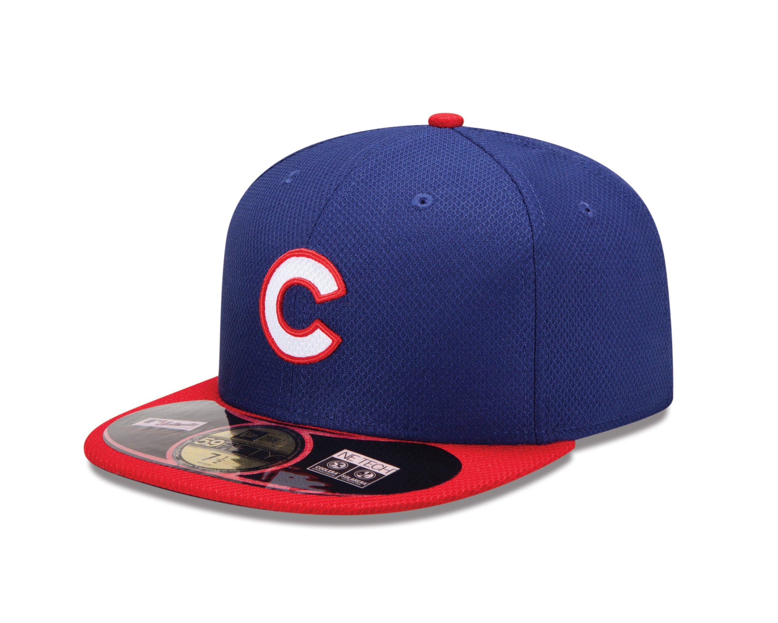 New Era, Cappellino Unisex adulto Diamond Era, Chicago Cubs 59 Fifty, Viola (Team), 55,8 cm
