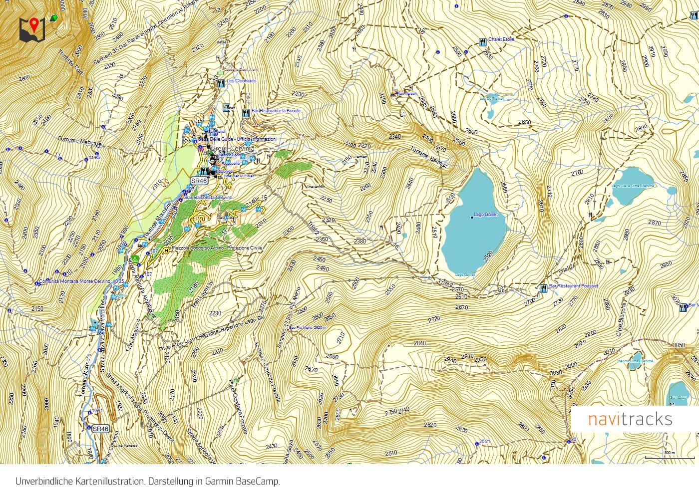 Germania topo biglietto per escursionismo Compatibile con Garmin Dakota eTrex Edge