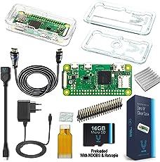 Vilros Raspberry Pi Zero W Complete Starter Kit-EU Plug Edition