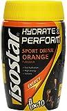 Isostar Hydrate & Perform – 400 g isotonisches Elektrolytgetränk – Elektrolytlösung zur Unterstützung der sportlichen Leistungsfähigkeit – Orange
