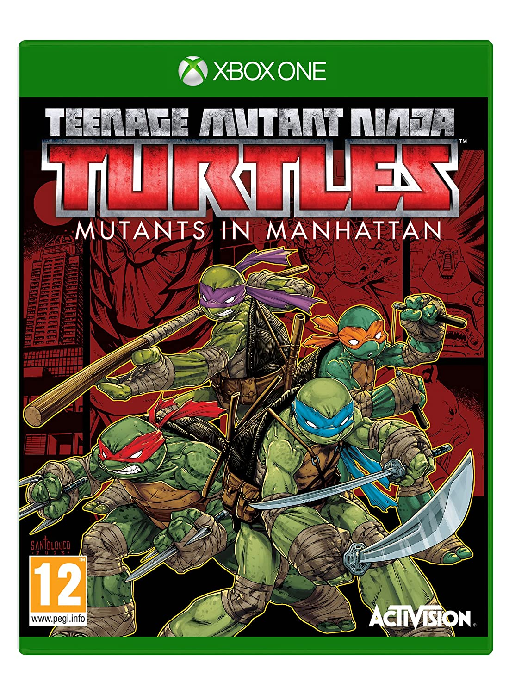 teenage mutant ninja turtles mutants in manhattan ps4 amazon