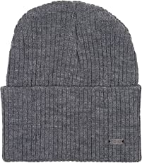 Noise NOICAPWNTR054 Polyester Sleeked Knitted Beanie, Adult (Grey)
