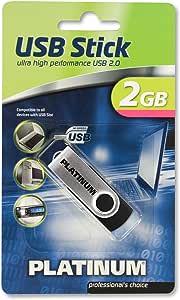Platinum Twister 2 Gb Usb Stick Usb 2 0 Schwarz Computer Zubehör