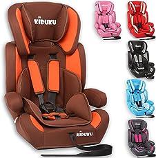 KIDUKU® Autokindersitz Kindersitz Kinderautositz, Sitzschale, universal, zugelassen nach ECE R44/04, in 6 verschiedenen Farben, 9 kg - 36 kg 1-12 Jahre, Gruppe 1/2/3