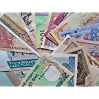 Novelty COLLECTIONS-15 World Currency Notes from Minimum 12 Countries(All Different)…