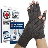 Doctor Developed Compression Arthritis Gloves - Doctor Written Handbook Included: Relieve Arthritis Symptoms, Raynauds…