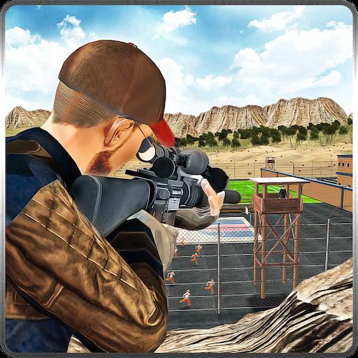Prison Escape Sniper Mission Regeln des Überlebens in Shooter Arena 3D-Spiel: Schießen & Töten Cops Attack in Battle Simulator Abenteuer Action-Spiel
