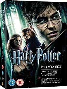 Harry Potter Films 1 7 Box Set Dvd Amazon Co Uk
