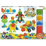 BLOKO – Coffret de 100 BIoko – Dès 12 Mois – Fabriqué en Europe – Jouet de Construction 1er âge – 503510