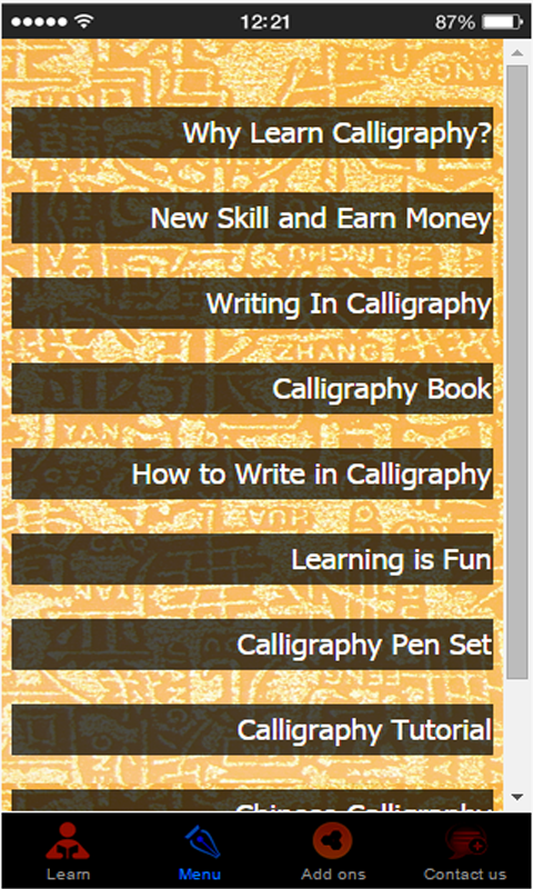 Learn calligraphy amazon appstore for android